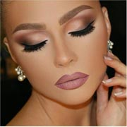 Glamour make-up